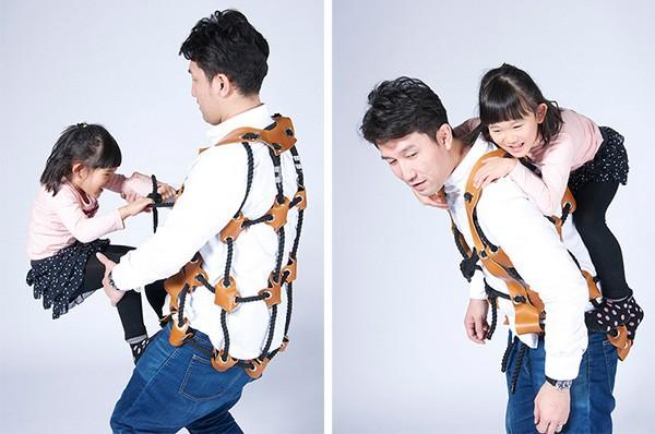 Met dit geweldige pak maak je van jezelf een klimrek