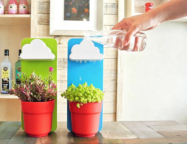 Rainy Pot: de leukste manier om je planten water te geven