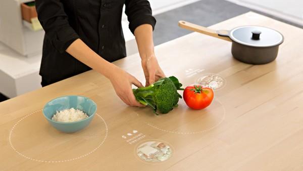 Volgens IKEA is dit de keukentafel van de toekomst