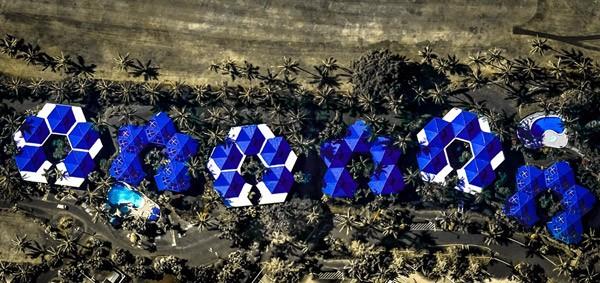 De prachtige Google Earth kunst van Frederico Winer