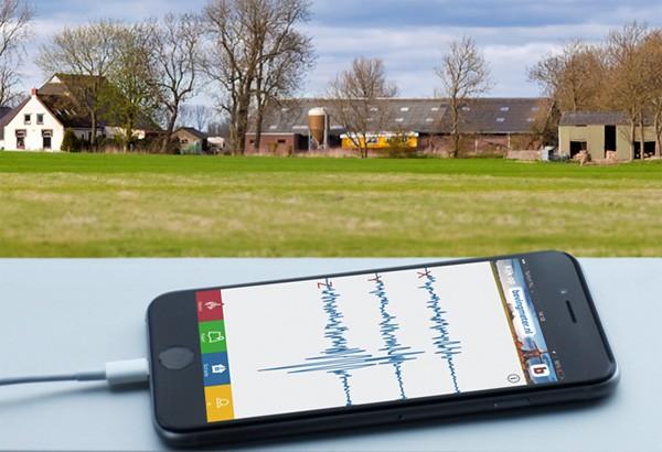 De gratis Bevingmeter app helpt Groningers bij aardbevingen