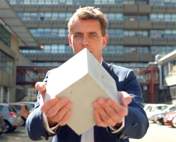 Nederlander ontwikkelt beton dat zijn eigen scheuren repareert