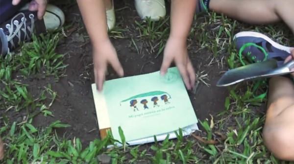 Tree Book Tree: een boek dat na het lezen in een boom kan veranderen