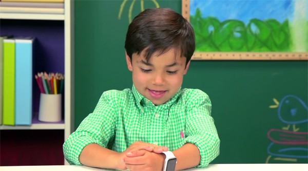 Zelfs kinderen willen maar wat graag een Apple Watch