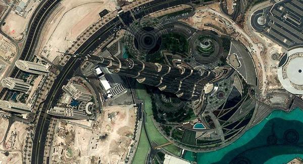 De megalomane bouwprojecten in het Midden-Oosten vanuit Google Earth