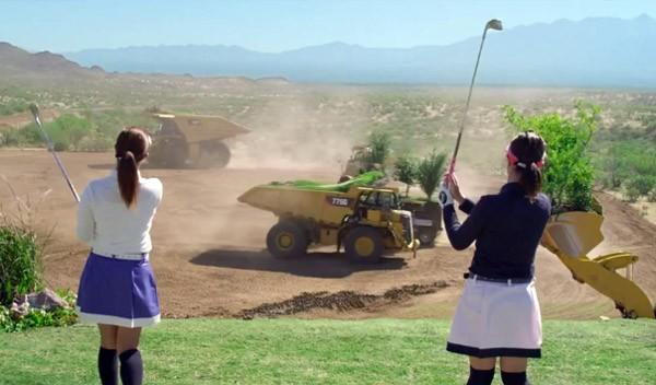 Golf met bewegende greens maakt de sport nóg moeilijker