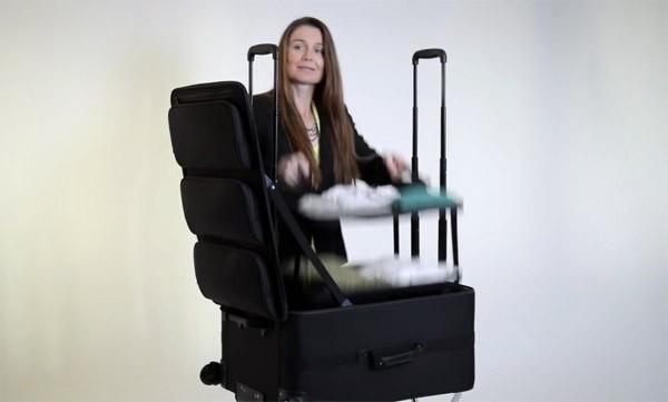 De ShelfPack is misschien wel de handigste reiskoffer tot nu toe