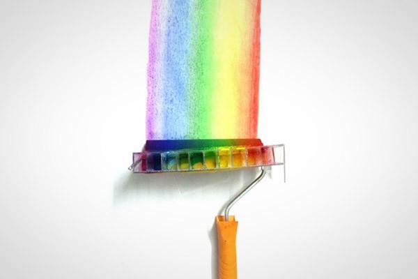 Zo maak je zelf een Rainbow Roller