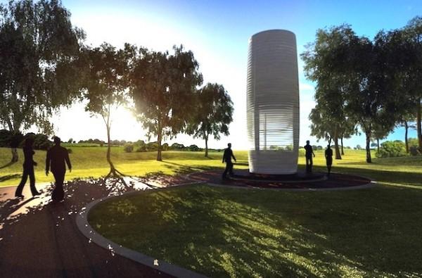 Smog Free Tower: de Nederlandse uitvinding die smog opzuigt
