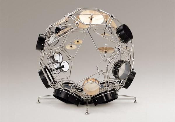 Yamaha Raijin: misschien wel het spectaculairste drumstel tot nu toe