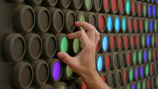 Everbright een interactief kunstwerk dat je laat spelen met licht
