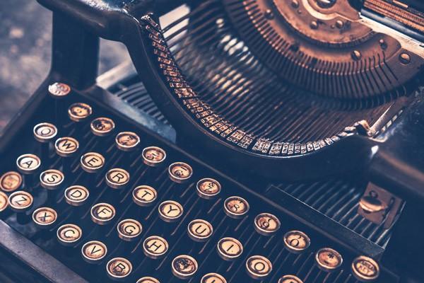 Deze leuke site bewijst hoe moeilijk het typen met een typemachine was