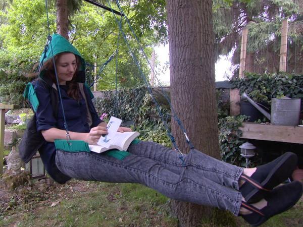 WeDangle: een broek met een ingebouwde schommel