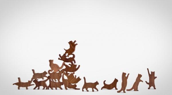 Cat Jenga: omdat katten nou eenmaal geweldig zijn