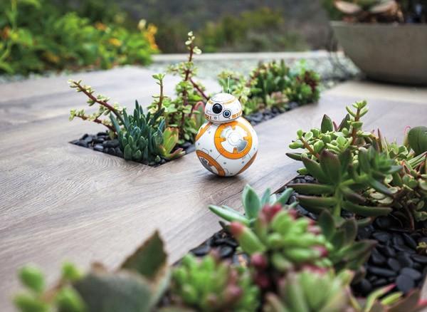 Geweldig speelgoed: de BB-8 robot uit Star Wars