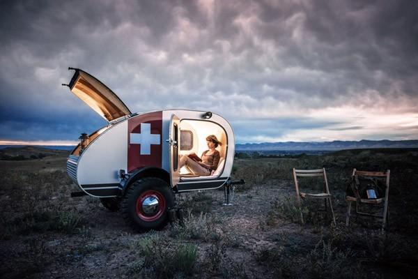 Vintage Overland: een off-road minicaravan
