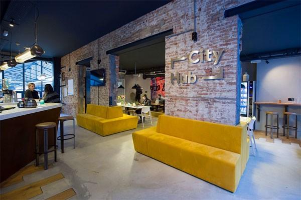 CityHub: een hypermodern nieuw hotel in Amsterdam