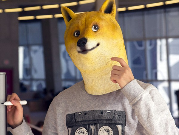 Such wow: het Doge Mask