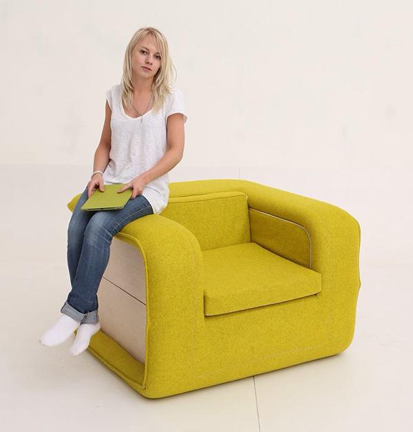 Flop Chair Van Stoel Naar Bed In N Seconde