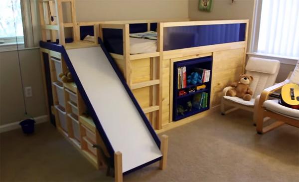 Ikea Hack Hoe Een Vader Een Briljant Kinderbedje Maakt