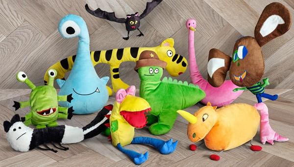 Deze briljante knuffels van IKEA komen rechtstreeks uit kindertekeningen