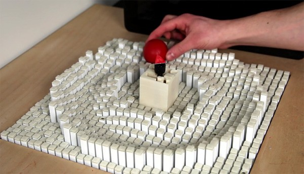 Kinetic Blocks: een revolutionair display van het MIT