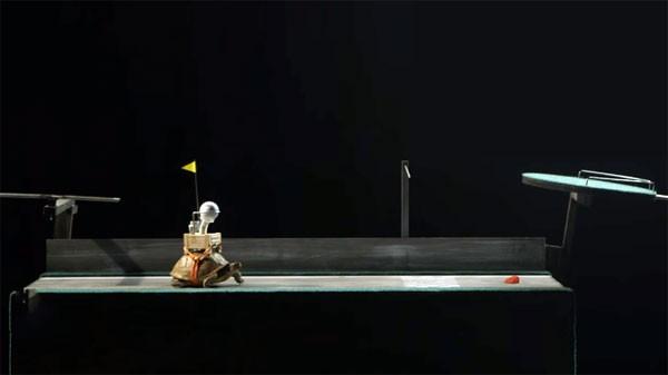 De langzaamste Rube Goldberg machine ter wereld