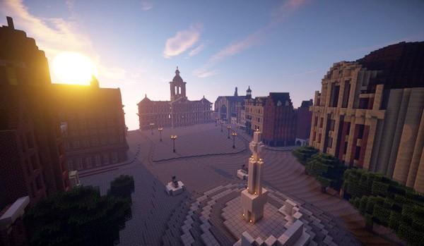 Nu uitproberen: Amsterdam in Minecraft