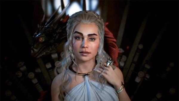 Daenerys Targaryen bewijst hoe krachtig de Unreal Engine 4 is