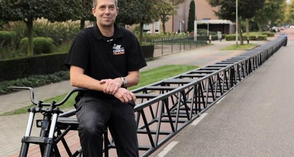 Deze Nederlandse fiets is met afstand de langste ter wereld