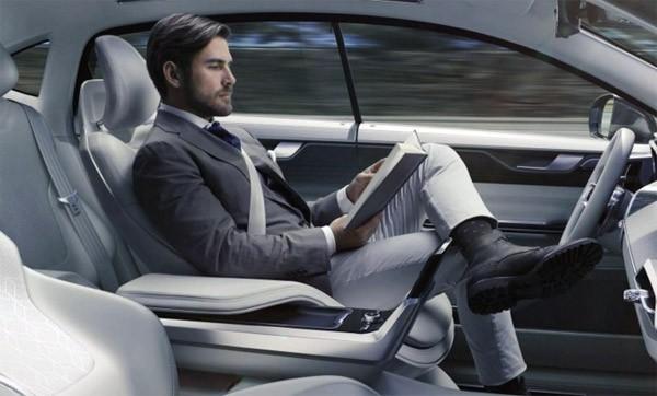 De toekomst van zelfrijdende auto's volgens Volvo