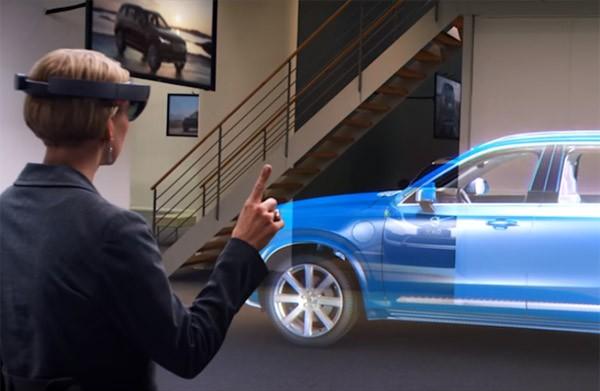 Gaan we in de toekomst hologramshoppen voor een auto?