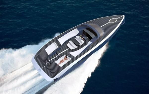 Bugatti Niniette: een luxe jacht gemaakt van koolstofvezel