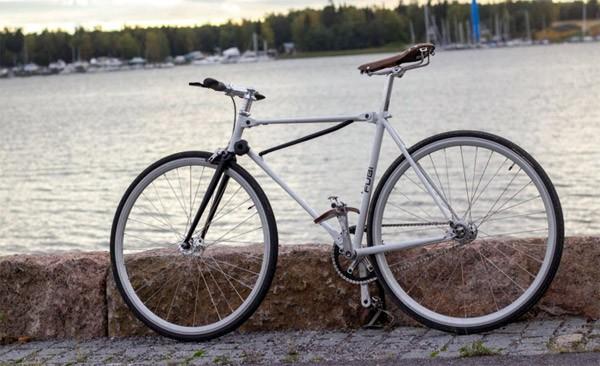 Fubifixie: een vouwfiets die eruitziet als een normale fiets