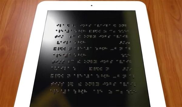 Amerikaanse universiteit ontwikkelt een tablet voor blinden