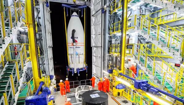De voorbereiding van een raketlancering: drie weken in drie minuten