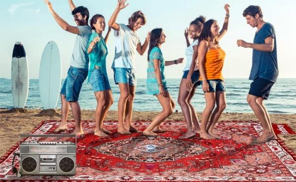Fatboy Picnic Lounge: een tapijt voor op het strand en in het park