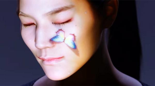 Intel ontwikkelt een lichtshow voor op je gezicht