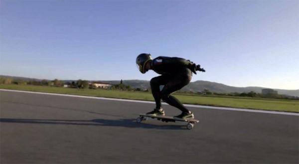 Razendsnel: het wereldrecord elektrisch skateboarden is verbroken