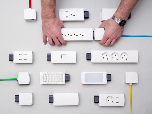 Youmo: een modulaire stekkerdoos