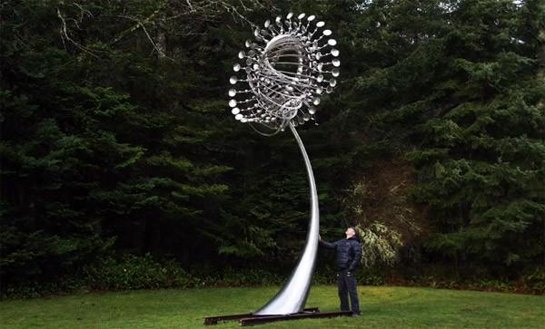 De magnifieke kinetische sculpturen van Anthony Howe