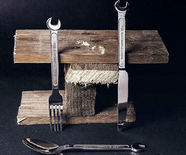 Wrench Cutlery: bestek voor klussers