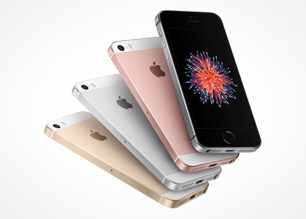 Lachen om de nieuwe iPhone SE