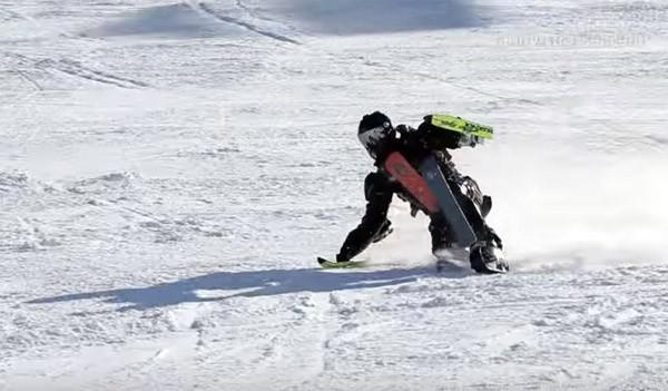 Ski Man: skiën met al je ledematen