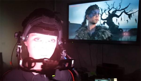 Actrice verschijnt in real time in de Unreal Engine
