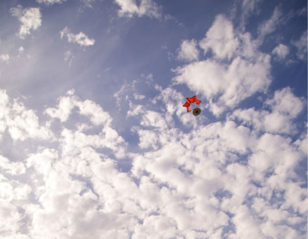 Birdie: een parachute voor je GoPro