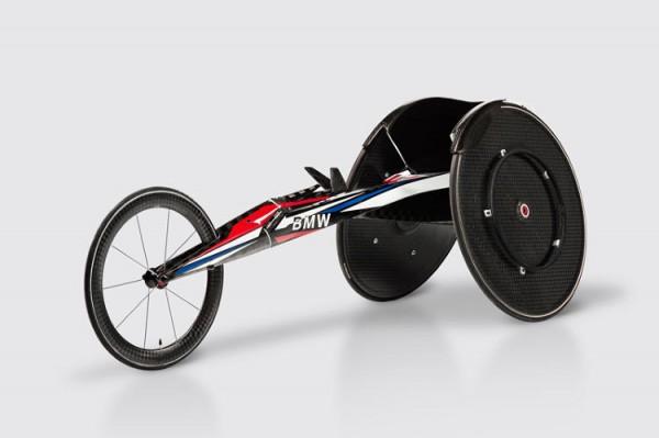 BMW heeft een razendsnelle rolstoel ontwikkeld