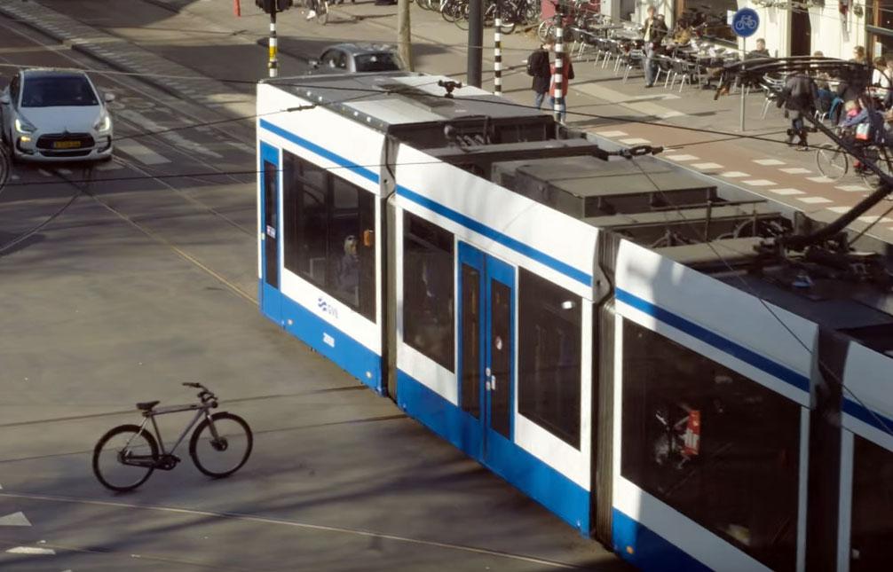 de zelfrijdende fiets van google nederland