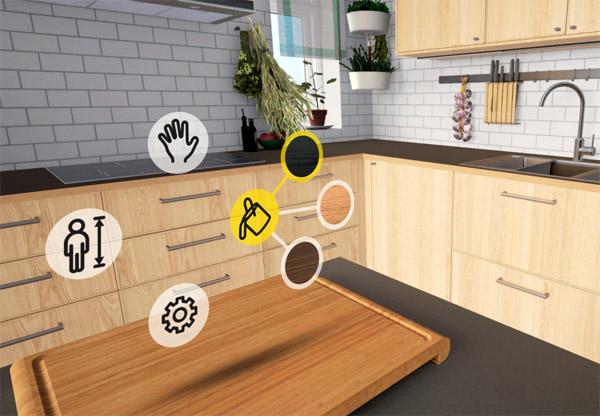 Virtual Reality Keuken : Ikea heeft een virtuele versie van een keuken online gezet
