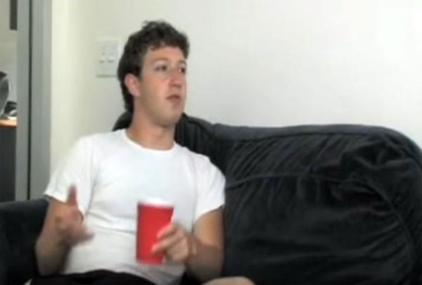 Een bierdrinkende Mark Zuckerberg zag het succes in 2005 niet aankomen